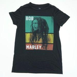 Zion Rootswear Bob Marley Short Sleeve T Shirt